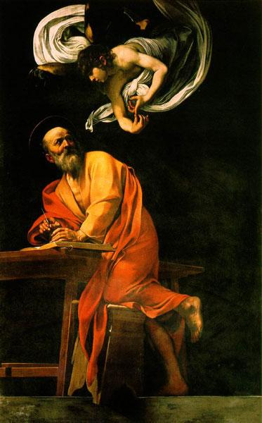 聖マタイと天使