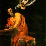 カラバッジョ 「聖マタイと天使」