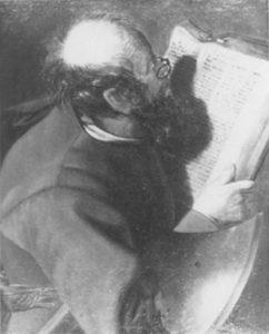 ジョルジュ・ド・ラ・トゥールの模写 「聖マティア」