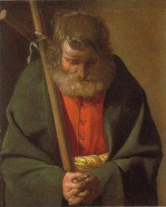 ジョルジュ・ド・ラ・トゥール 「聖ピリポ」