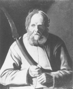 ジョルジュ・ド・ラ・トゥールの模写 「聖シモン」