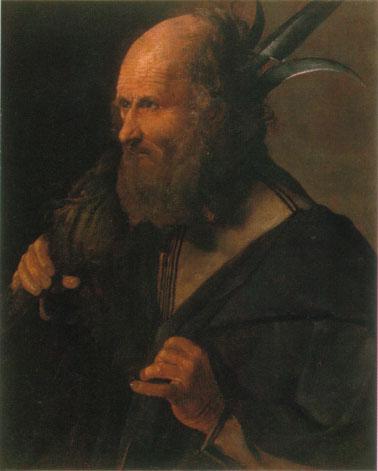 ジョルジュ・ド・ラ・トゥール 「聖タダイ」