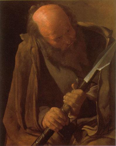 ジョルジュ・ド・ラ・トゥール 「聖トマス」